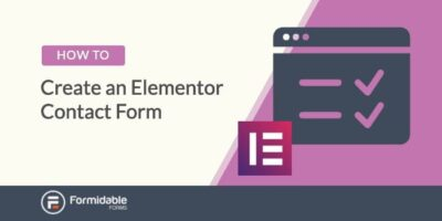 How to create an Elementor contact form