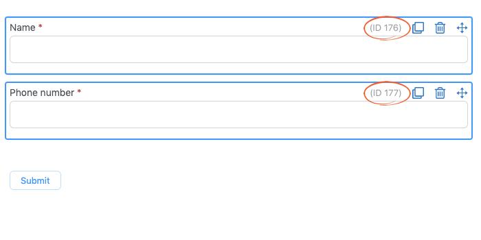 rsvp via text message sample guest list