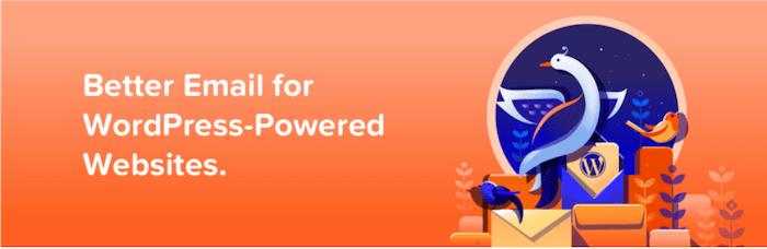 The Mailpoet WordPress email marketing plugin.