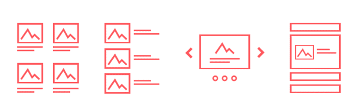 A banner for one of the leading WordPress grid plugins, Content Views.