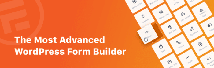 Formidable Forms, one of the best WordPress table plugins.