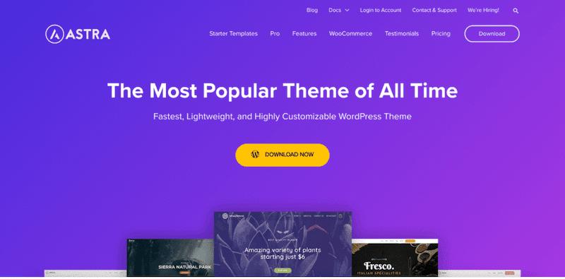 Astra Best WordPress theme