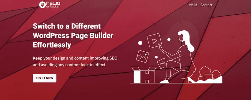 Nelio Unlocker switch page builder