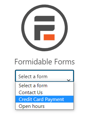 How to integrate Stripe with WordPress using the Formidable Forms block.