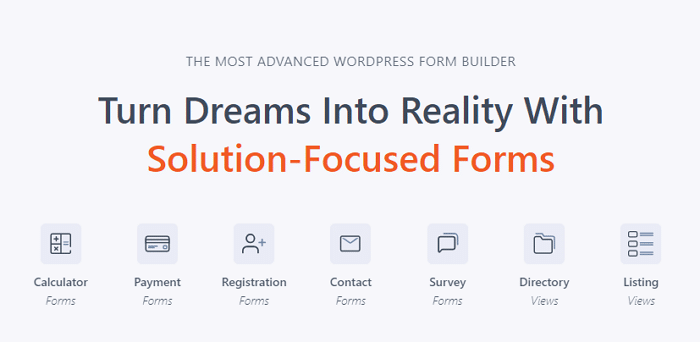 You can use Formidable Forms as the best WordPress credit card payment plugin for many cases.
