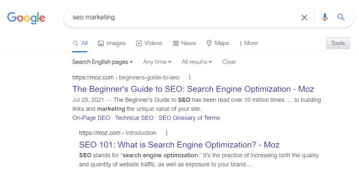 You can use digital marketing statistics to reach the top of search engine results.