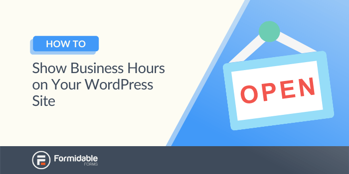 How to show business hours on WordPress site with WordPress hours of operation plugin