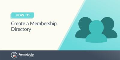 How to Create a Membership Directory