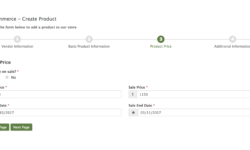 WooCommerce Product Price Sample Form