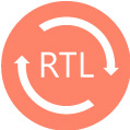 RTL (Right-to-Left) Text Support