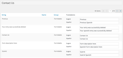 Setting up your Multilingual Forms
